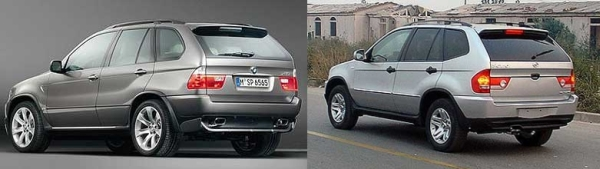 BMW CEO Fuming Over Chinese Knock-Off Of Popular X5 SUV. (Pics)
